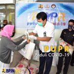 BPJN XIV PALU PEDULI SOSIAL TERDAMPAK COVID-19
