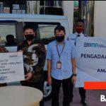 BANK MANDIRI PALU SALURKAN CSR BERUPA SATU UNIT MOBIL AMBULANCE