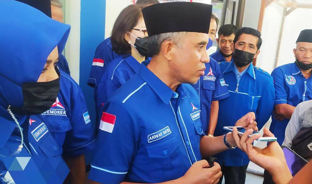 Demokrat Sulteng Tolak KLB, Anwar Hafid Serahkan Dokumen ke Kanwil Kemenkumham