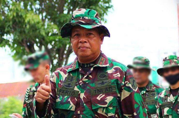 Tegas Peringati Kelompok MIT Poso, Berikut Profil Komandan Korem 132 Tadulako, Brigjen TNI Farid Makruf