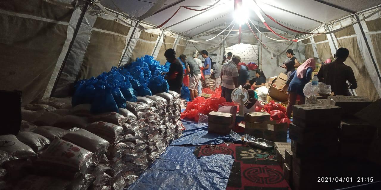 Jelang Rakorwil, NasDem Sulteng Bagi 7000 Sembako Untuk Penyintas di Pasigala
