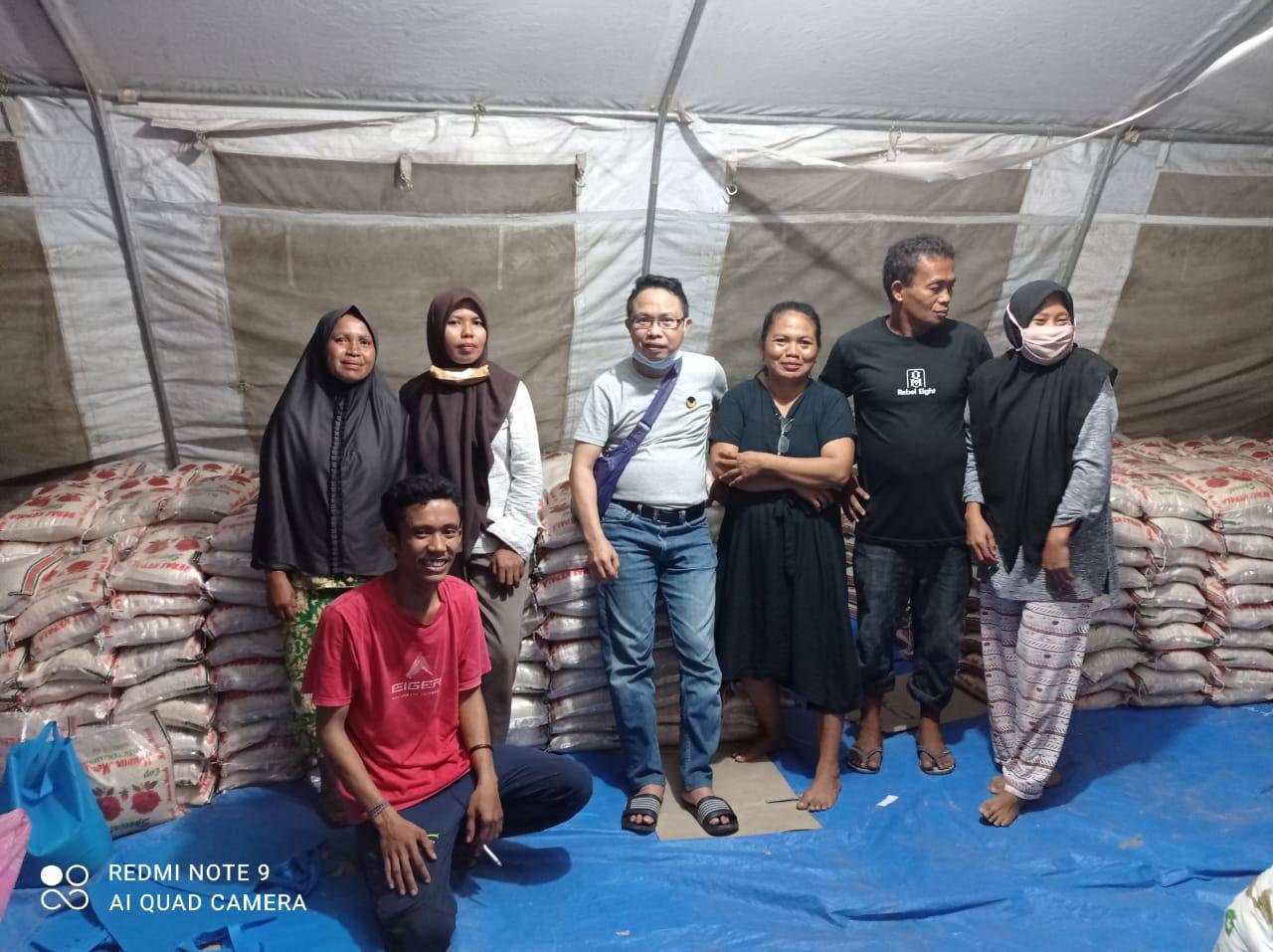 Jelang Rakorwil, NasDem Sulteng Bagi 7000 Sembako Bagi Penyintas di Pasigala