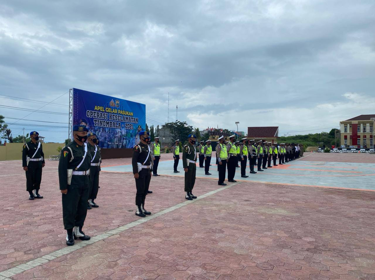 Dilarang Mudik, Polda Sulteng Gelar Operasi Keselamatan Jaya 2021