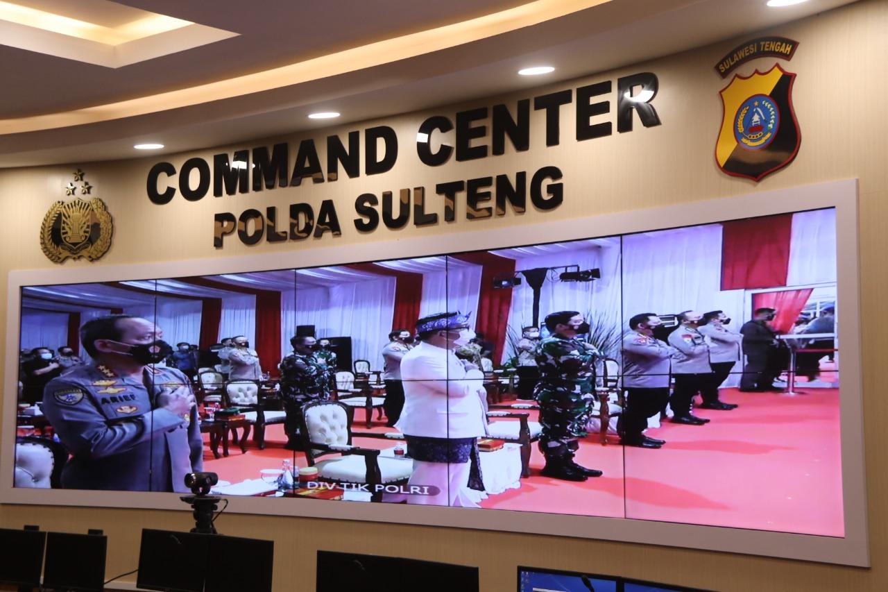 Call Center 110 Polda Sulteng