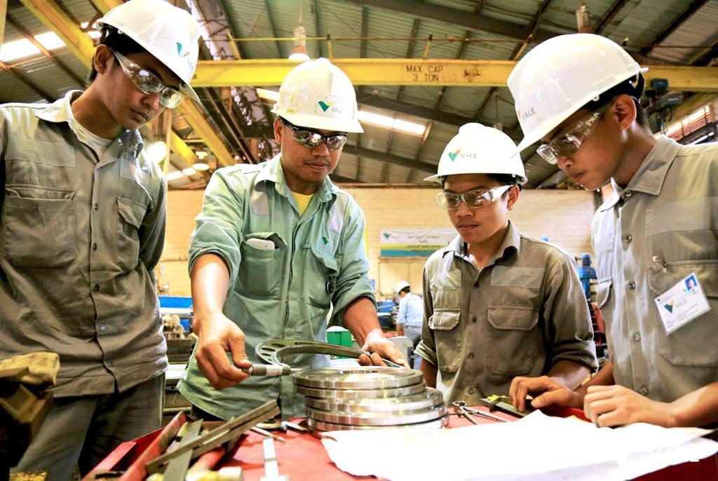 Produksi Nikel Indonesia