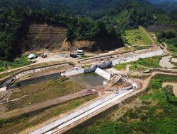 Bendungan Irigasi Salugan Siap Aliri 3.000 Hektar Sawah di Tolitoli