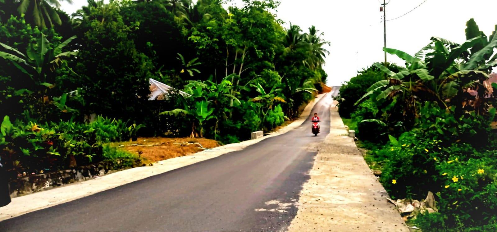 Aspal Jalan Makin Mulus, Waktu Tempuh Long – Lembah Mukti Makin Cepat 1
